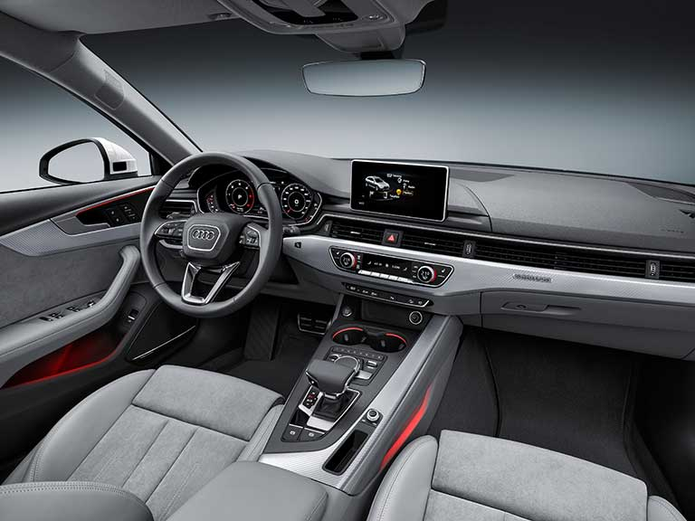 The Audi A4 allroad interior