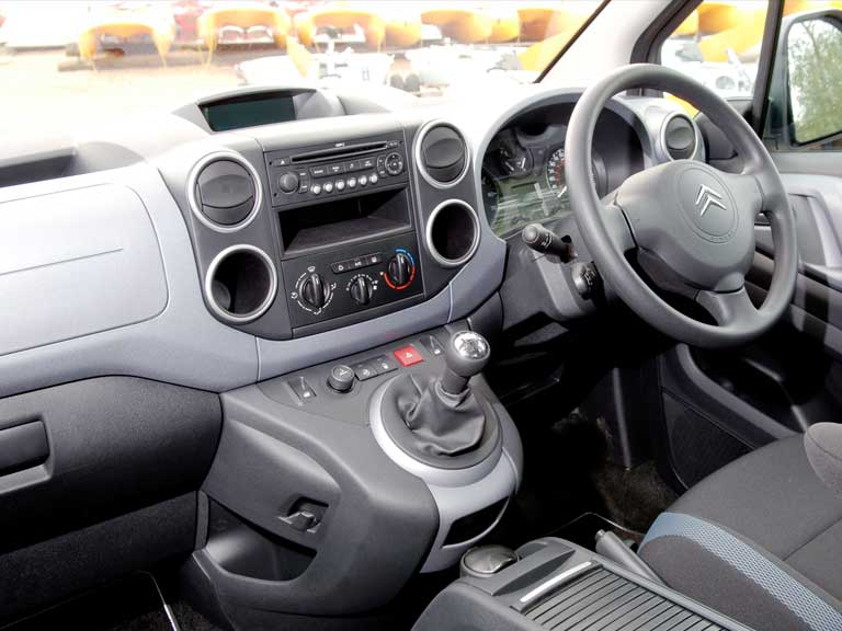 Citroen Berlingo dashboard