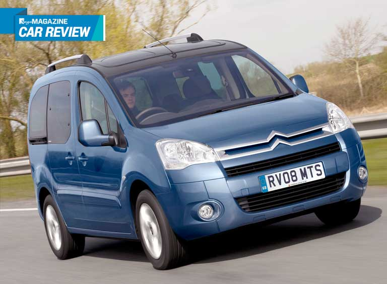 Citroen Berlingo - Saga Magazine car review