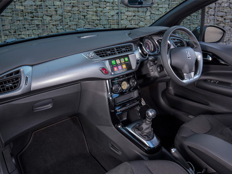 Interior of a DS 3
