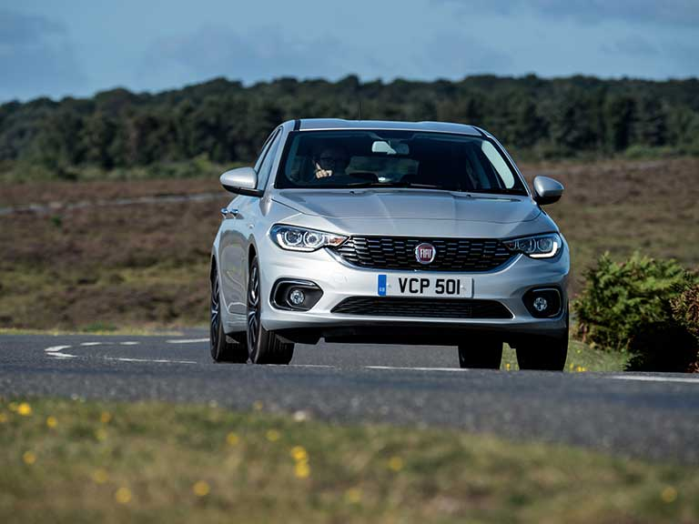 Fiat Tipo front view