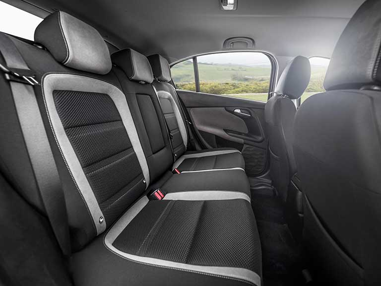 Fiat Tipo back seat