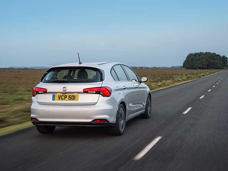 Fiat Tipo  rear view