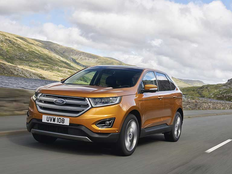 The Ford Edge front