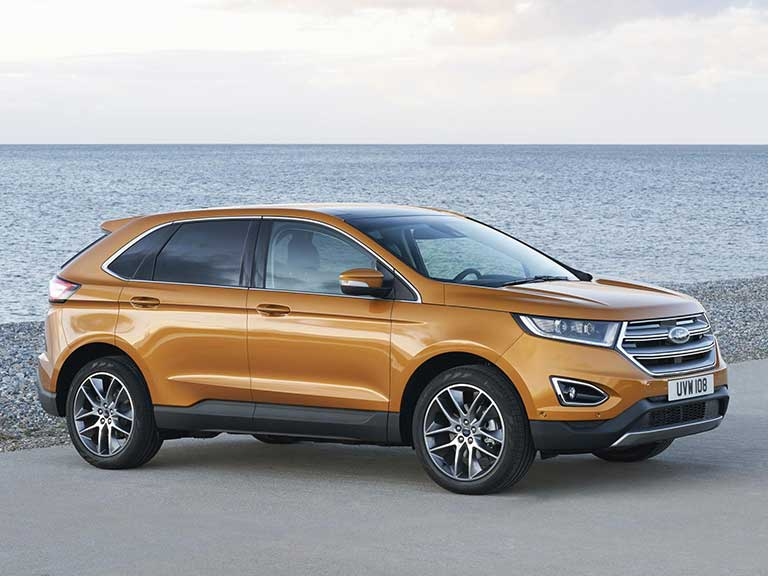 The Ford Edge side view