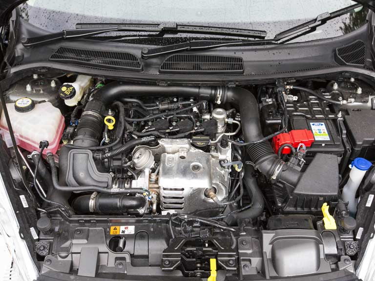 Ford Fiesta 1.0-litre EcoBoost engine