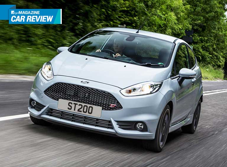 Saga Magazine car review - Ford Fiesta ST200