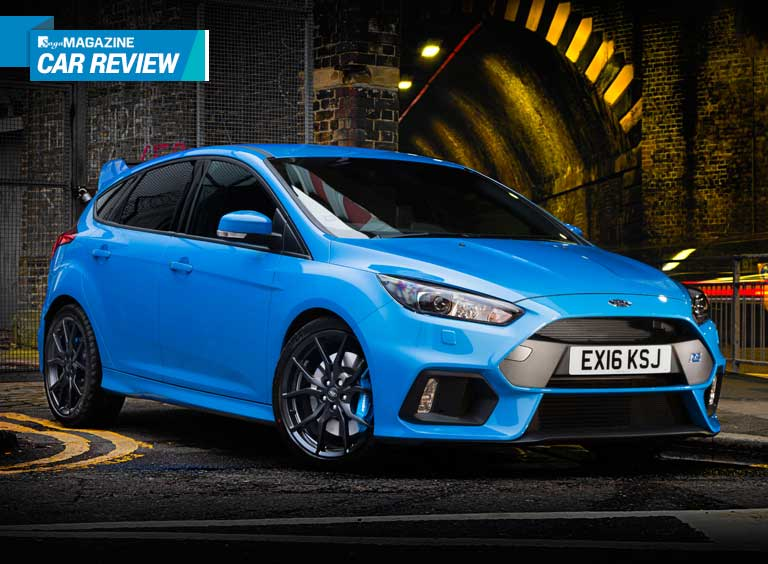Saga Magazine reviews the Ford Focus RS