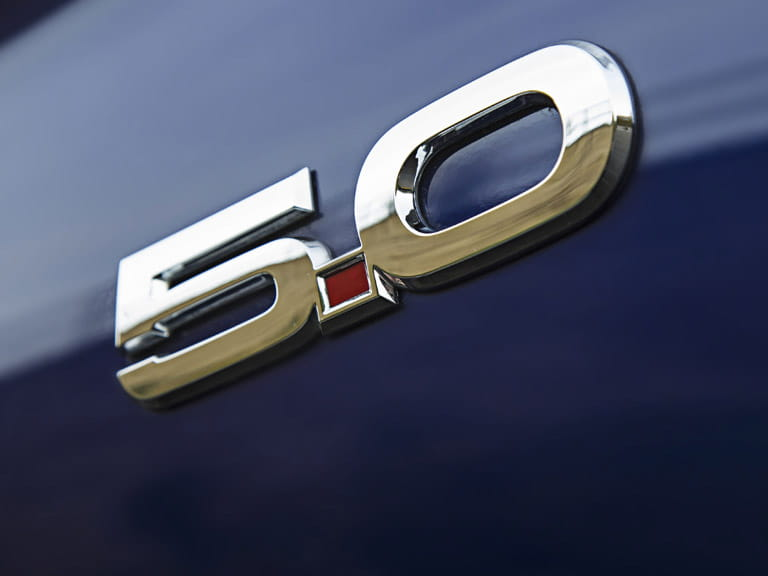 Ford Mustang 5.0 badge