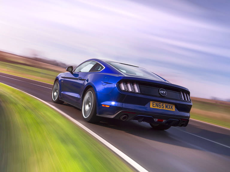 The Mustang hides its cruising speed well too, which means you need to keep a keen eye on the speedometer