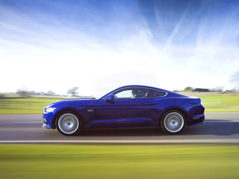 The Ford Mustang is now available in right-hand-drive for the first time in its 52-year history