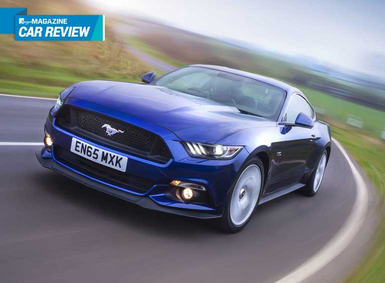 Saga Magazine reviews the Ford Mustang