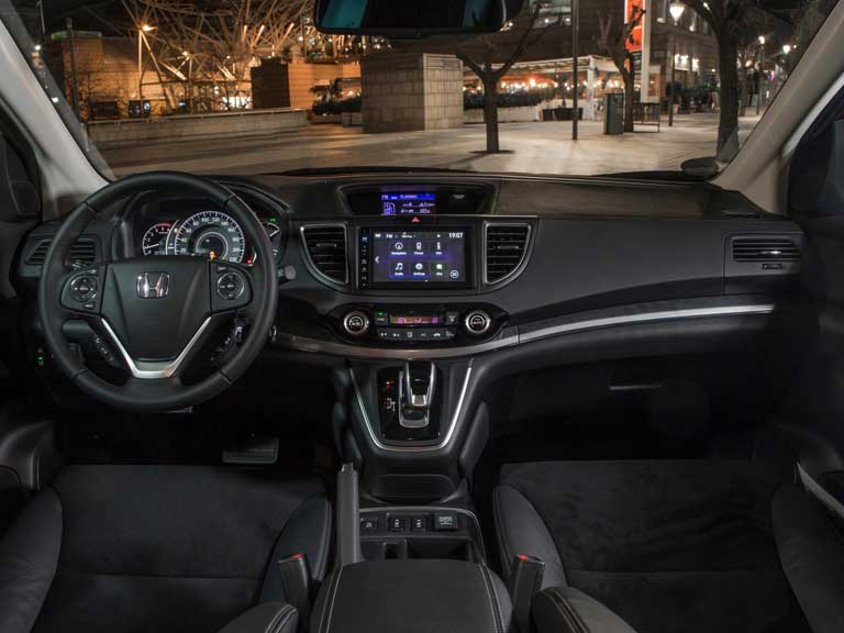 Interior of a Honda CR-V