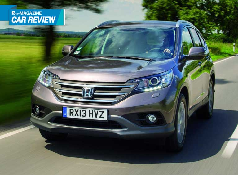 Honda CR-V - Saga Magazine review