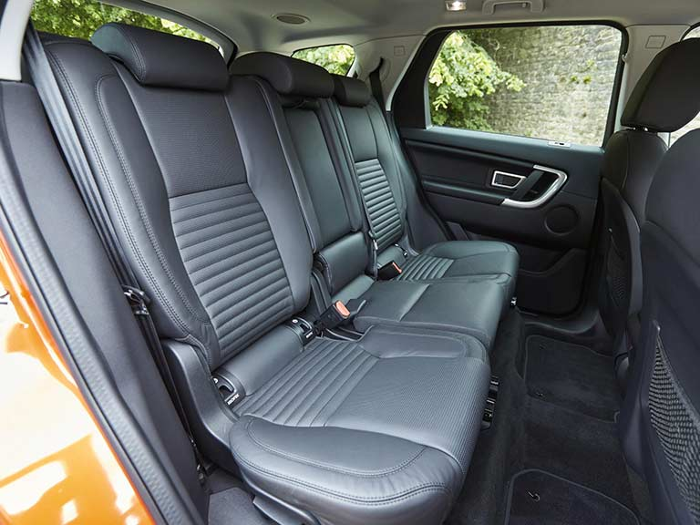 Land Rover Discovery Sport back seats