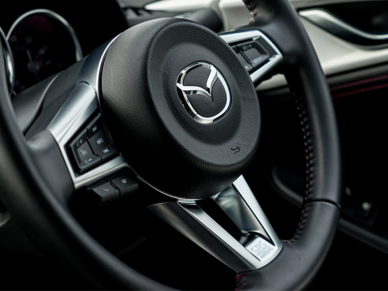 Mazda MX-5 steering wheel
