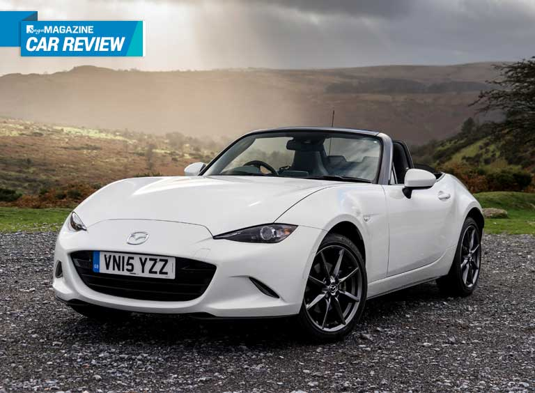 Saga Magazine car review - Mazda MX5