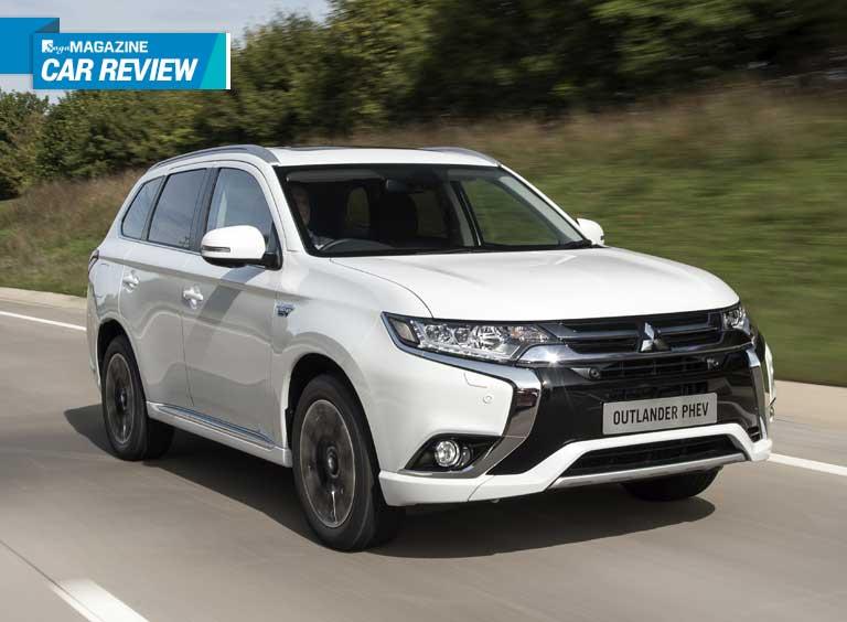 Electric hybrid car review: Mitsubishi Outlander PHEV - Saga