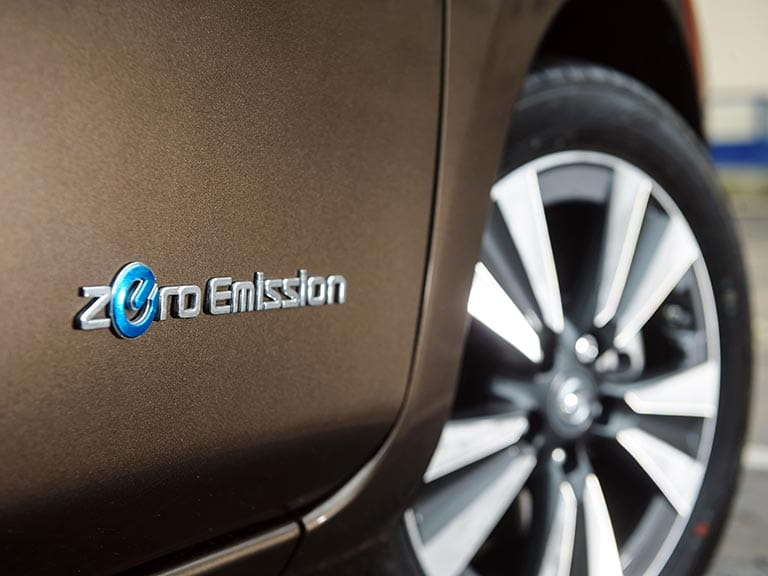 Nissan LEAF wheel