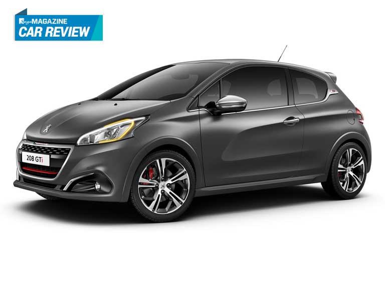 Saga Magazine reviews the Peugeot 208 GTi