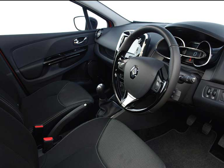 Renault Clio front seats