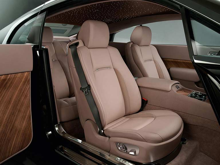 Rolls Royce Wraith front seats