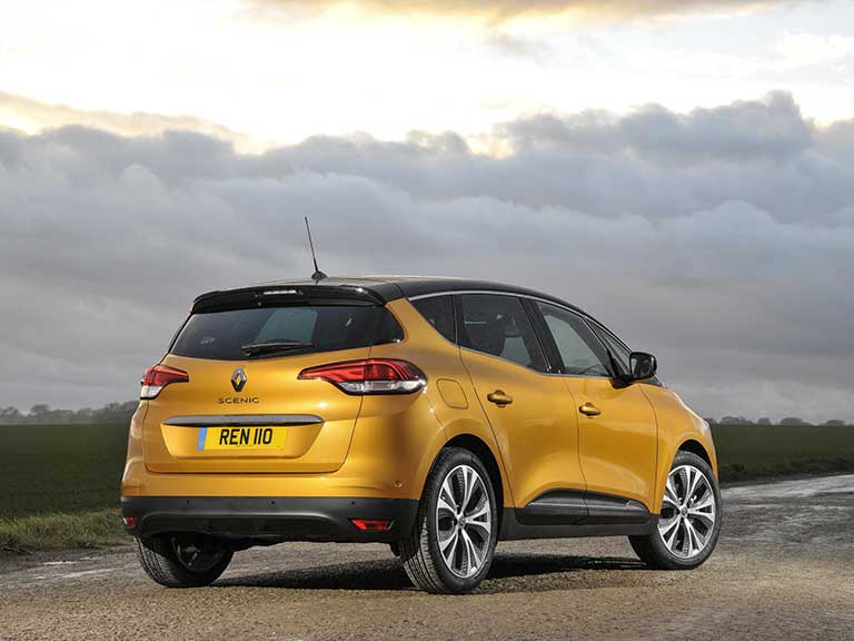 Renault Scenic rear view