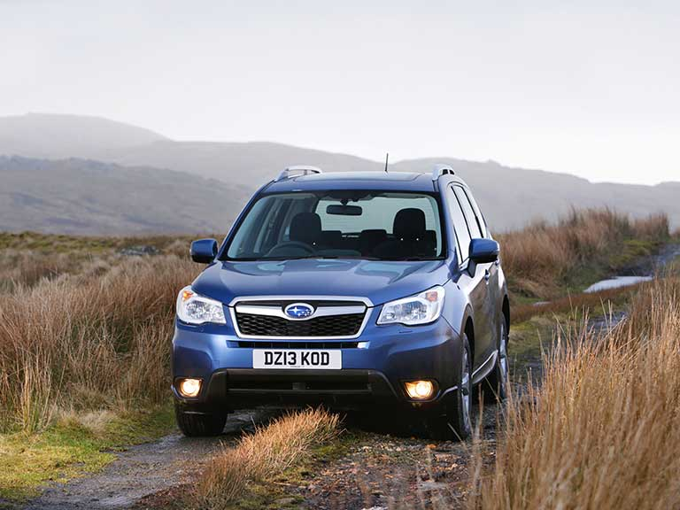 Subaru Forester front view