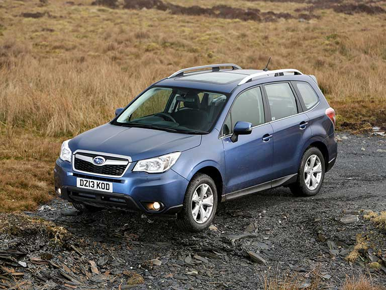 Subaru Forester front side view