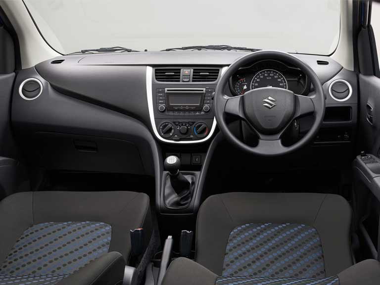 Interior of the Suzuki Celerio