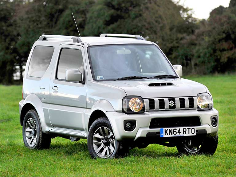 Suzuki Jimny from the front