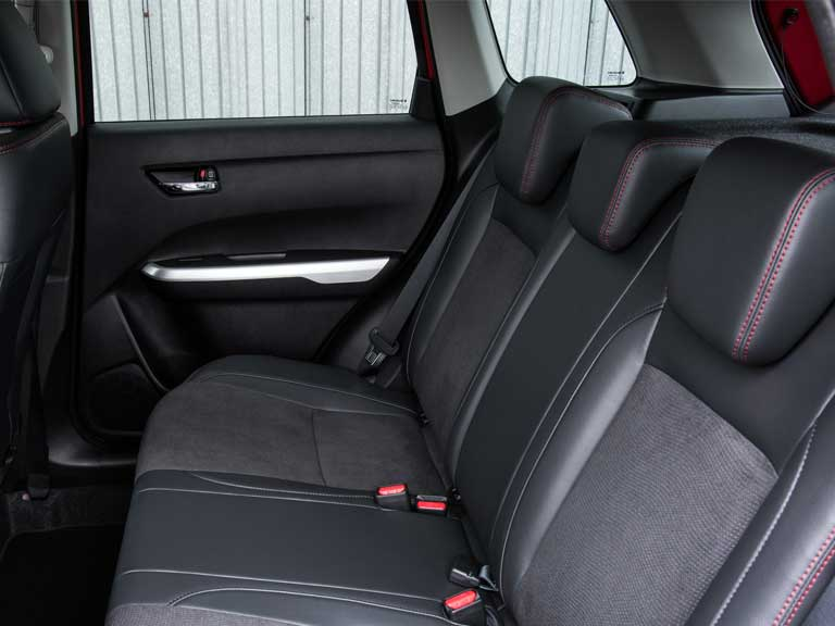 Suzuki Vitara S rear seats