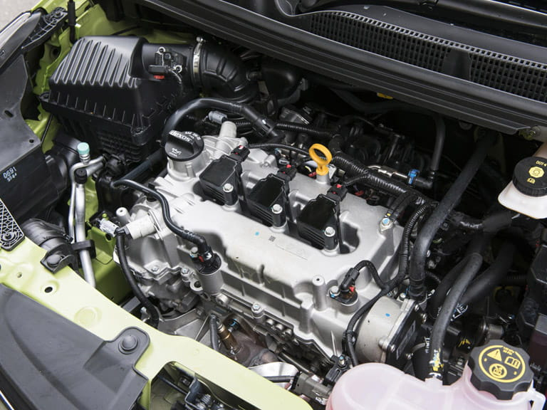 There is only one engine on offer, a 999cc, three-cylinder