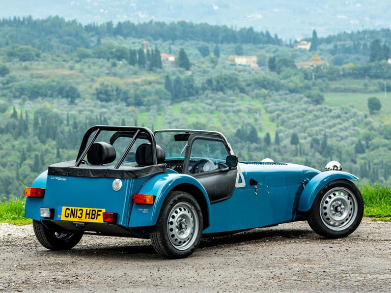 The Caterham Seven is totally impractical but so much fun