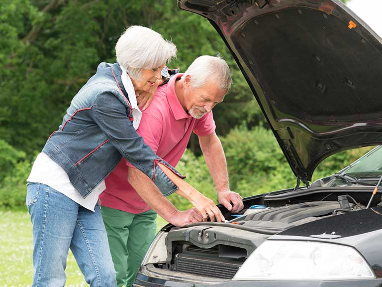 An older couple have been let down by their unreliable car