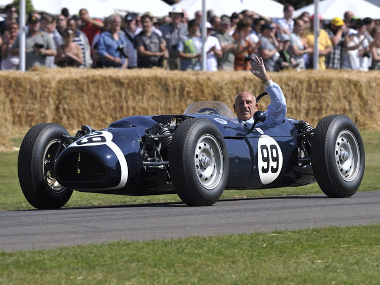 Stirling Moss. Photo: Max Earey/Shutterstock.com