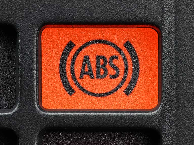 Why is the ABS (anti lock braking system) light on?