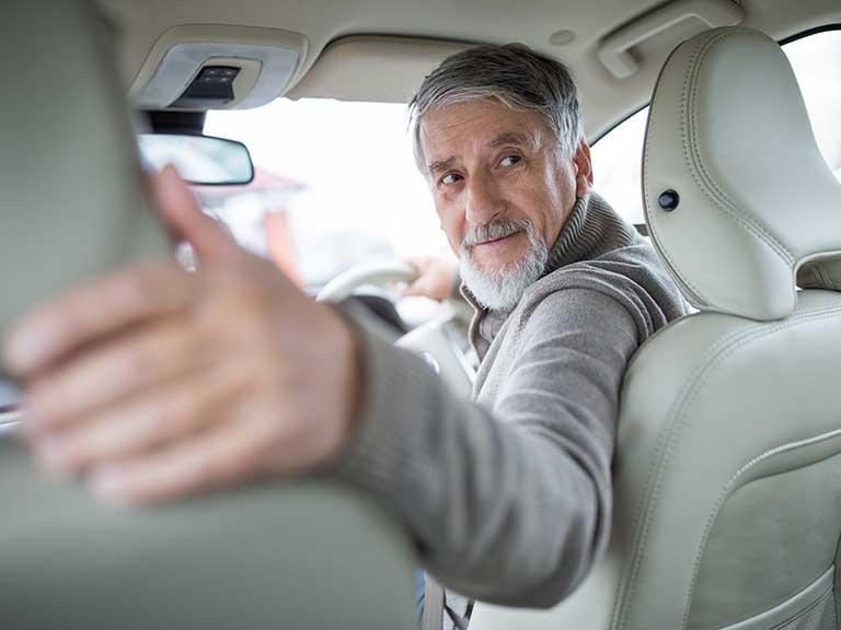 Reverse Car Driving