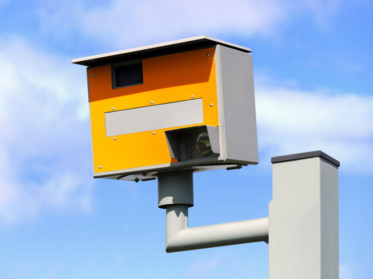 Speed cameras are the most common way to be caught speeding