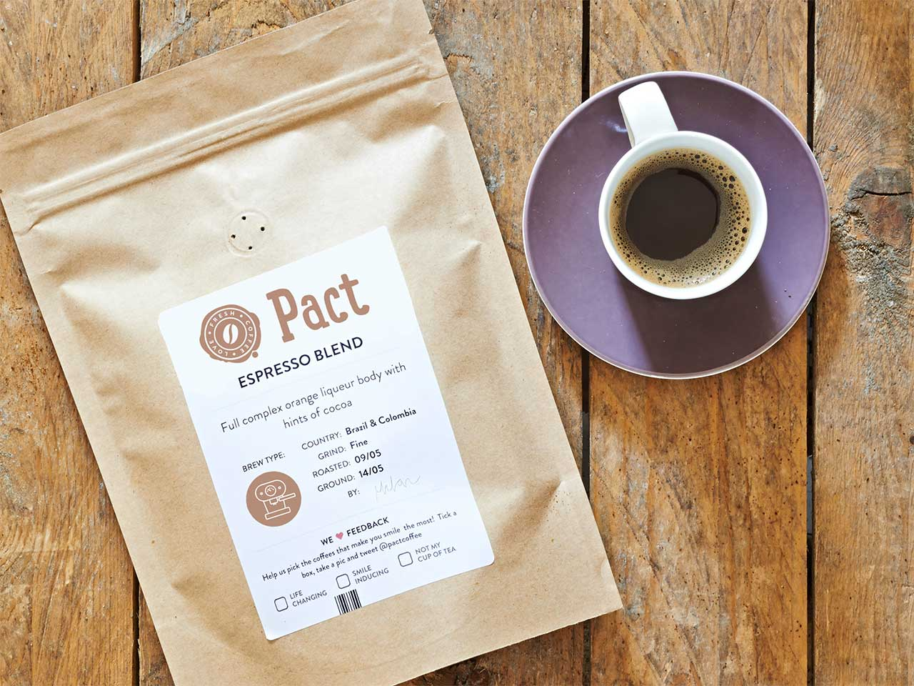 Pact Coffee offer