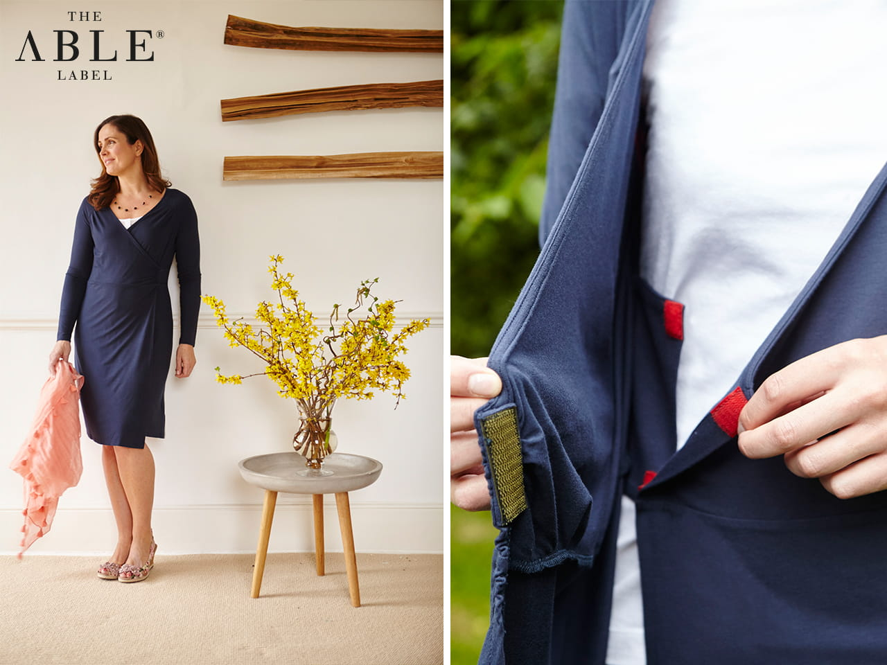 Able Label - quality, stylish clothes with adapted designs and hidden extras