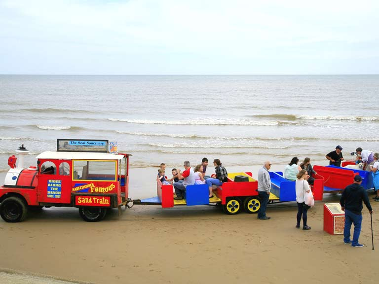 Mablethorpe's Sand Train