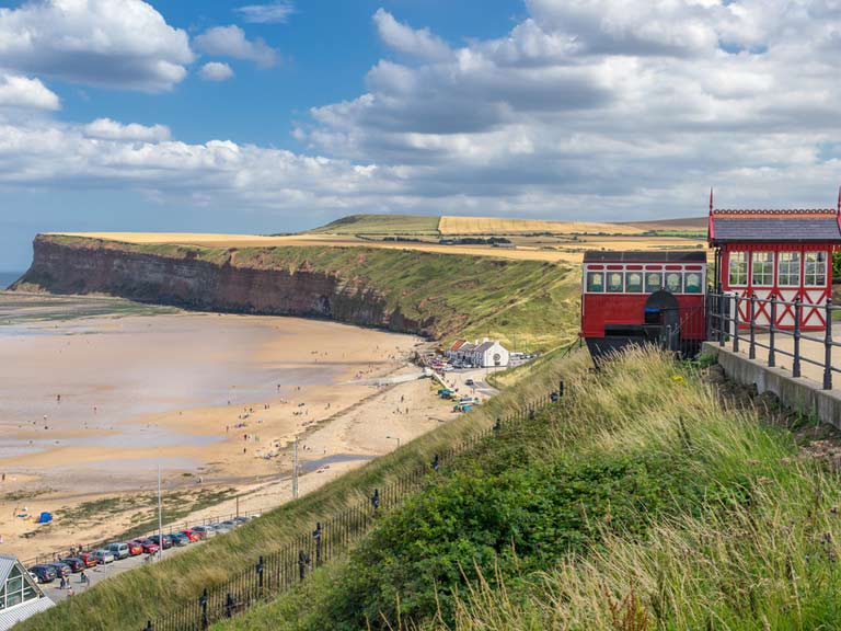 Saltburn-by-the-Sea's funicular lift