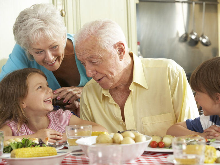 Study of relationships between adult children and parents