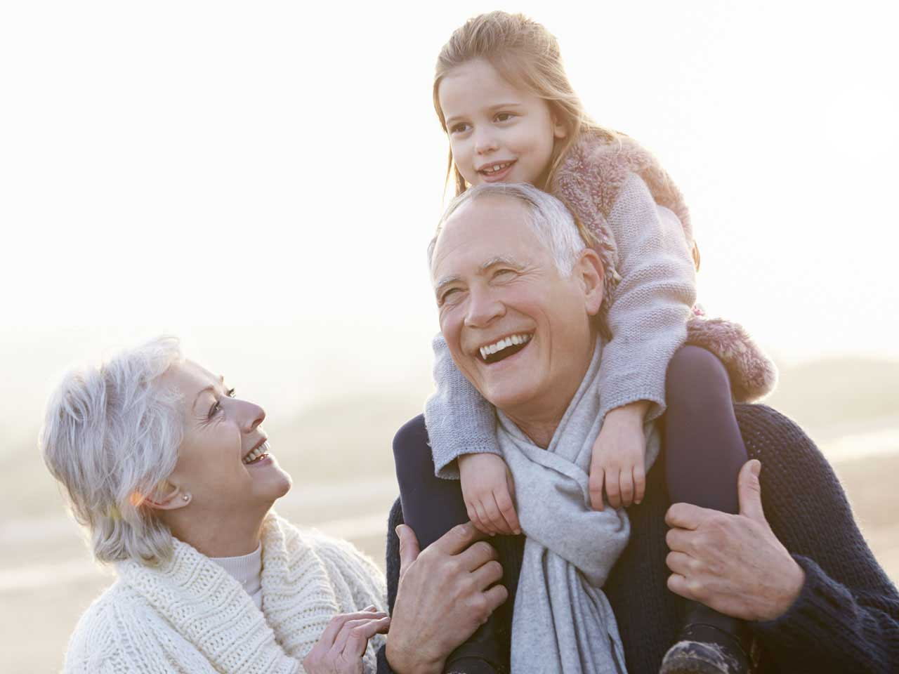 Help for grandparents looking after children