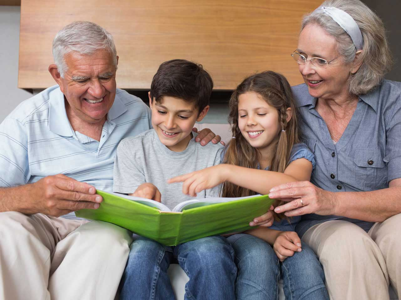 How to be a fair step-grandparent