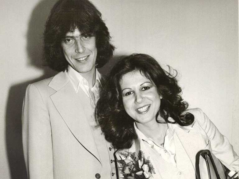 Elkie Brooks and Trevor Jordan