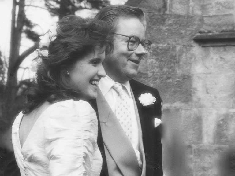 Hilary and Michael Whitehall
