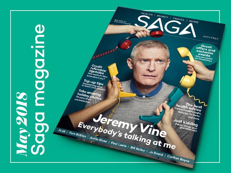 Saga magazine uk