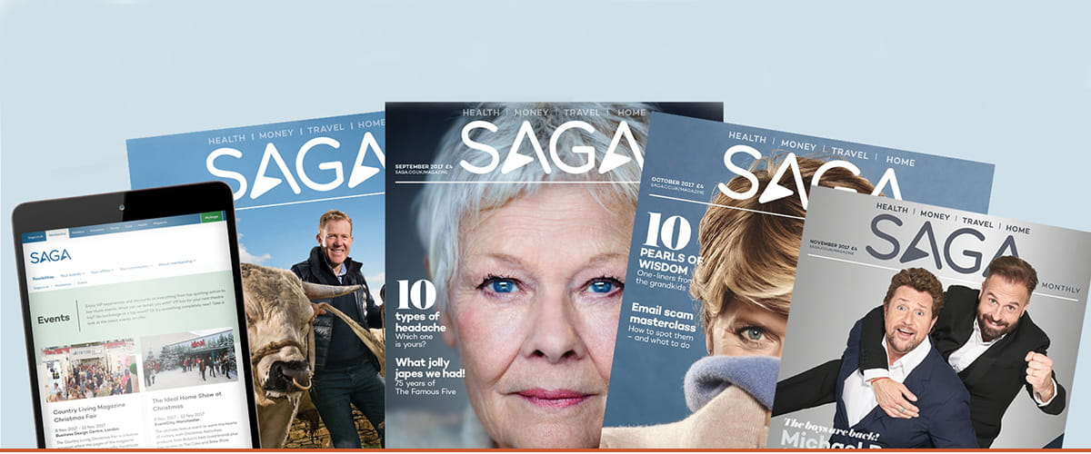 Subscribe to Saga Magazine